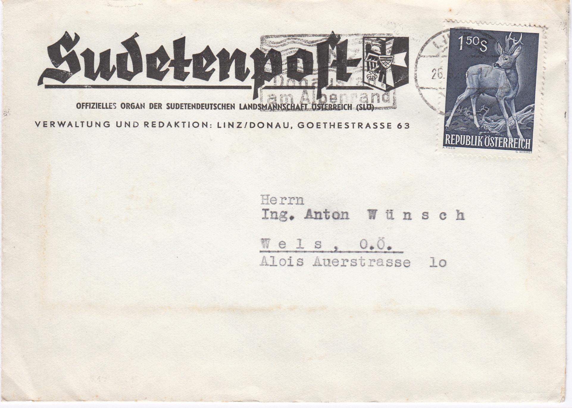 Sammlung Bedarfsbriefe Österreich ab 1945 - Seite 13 Img_0187
