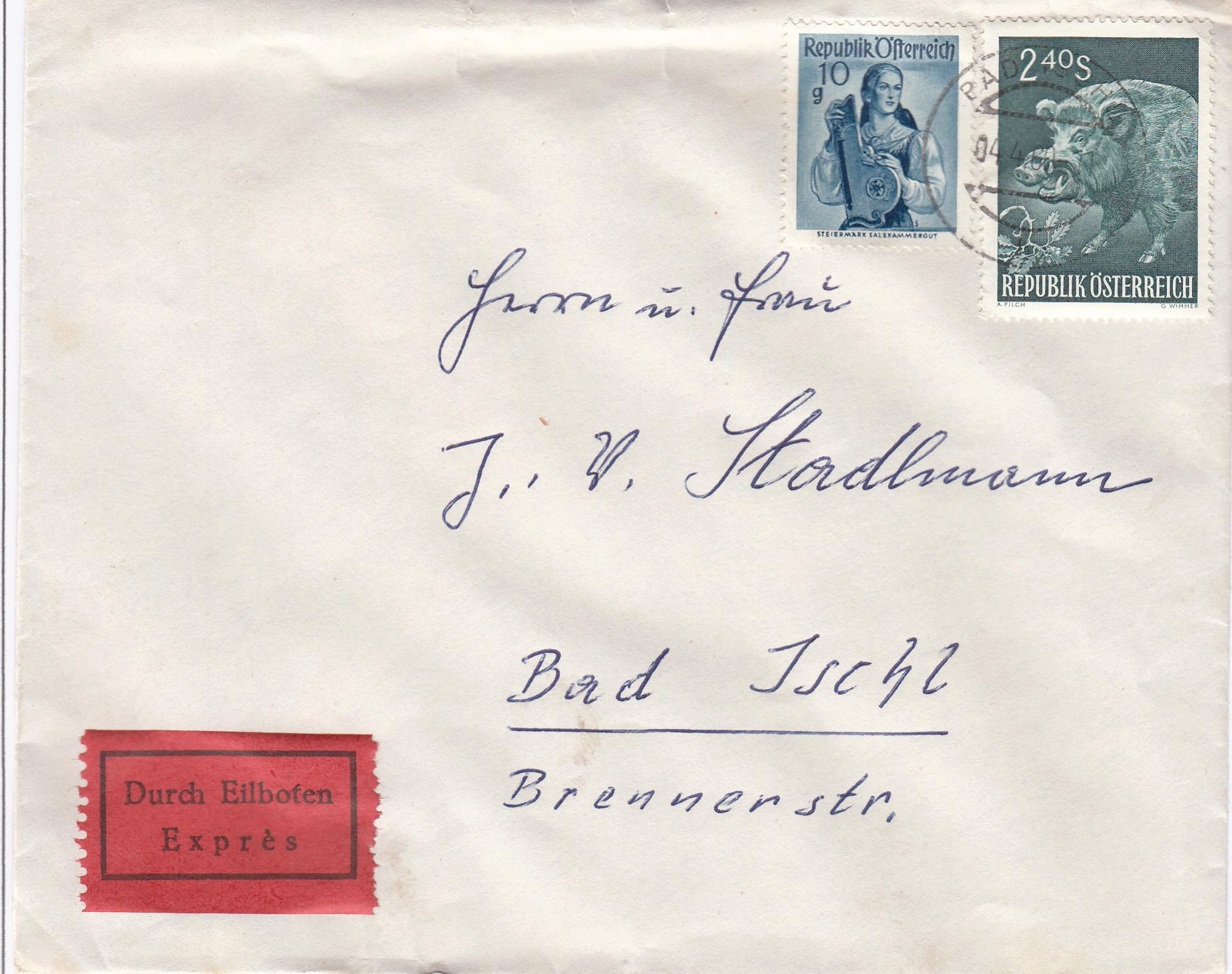 Sammlung Bedarfsbriefe Österreich ab 1945 - Seite 13 Img_0189