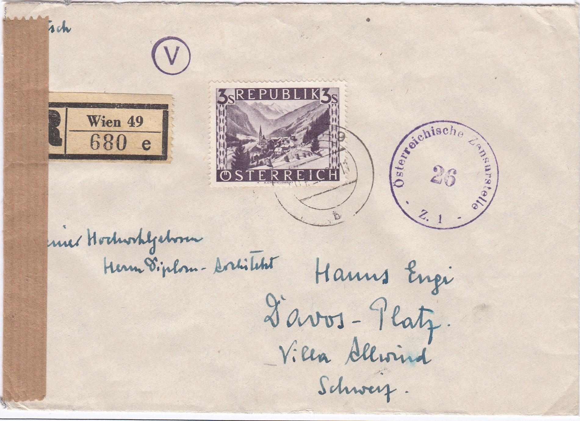 Zensurnebenstempel Österreich nach 1945 Img_0210