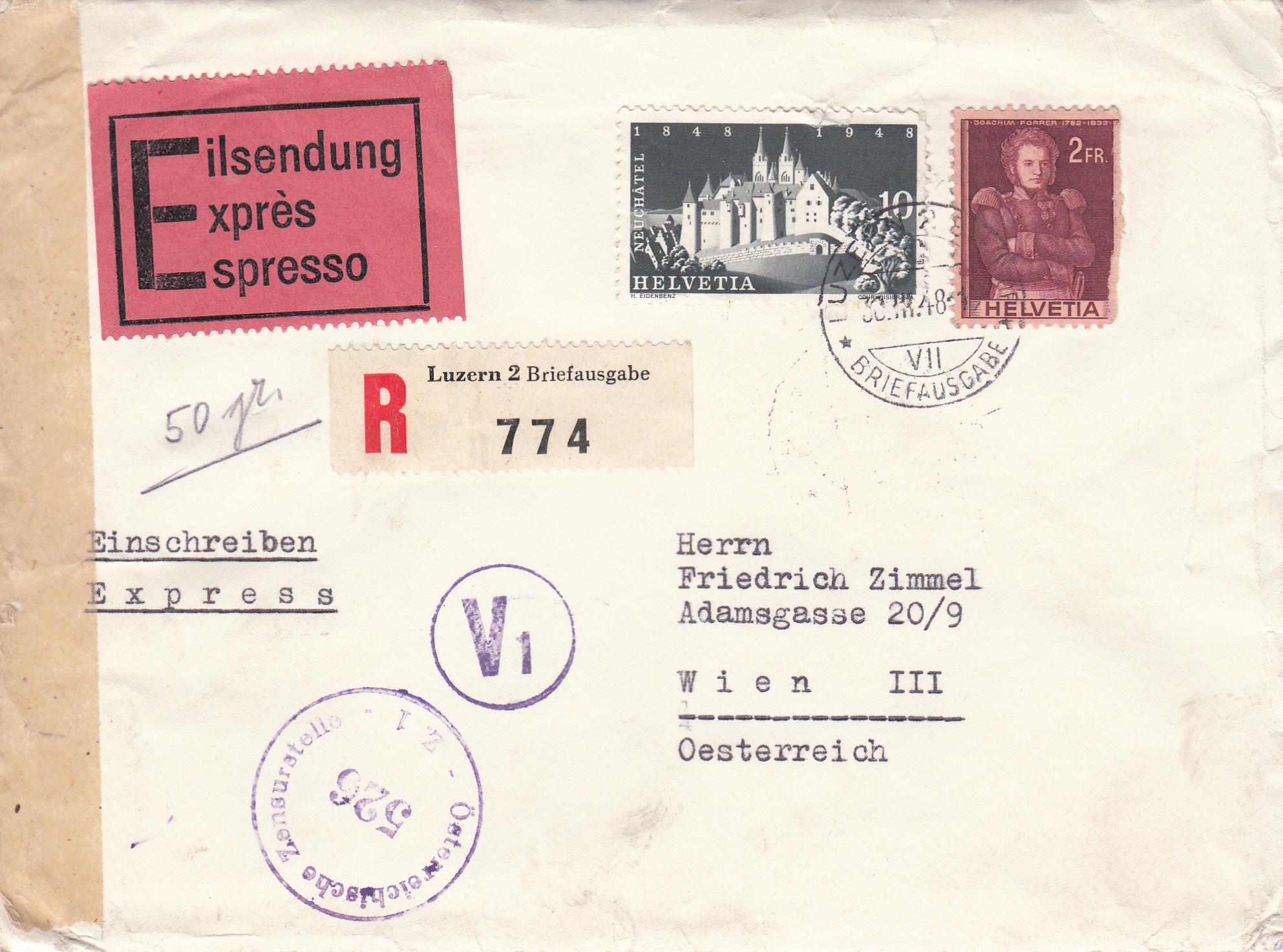 Zensurnebenstempel Österreich nach 1945 Img_0212