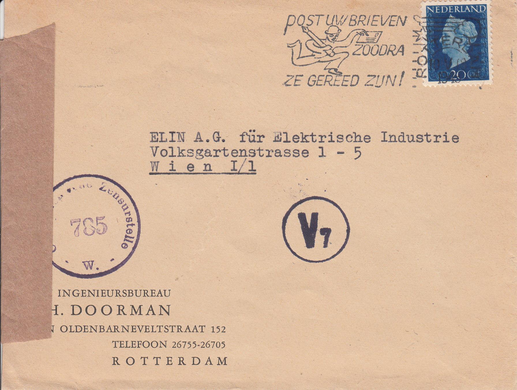 Zensurnebenstempel Österreich nach 1945 Img_0213