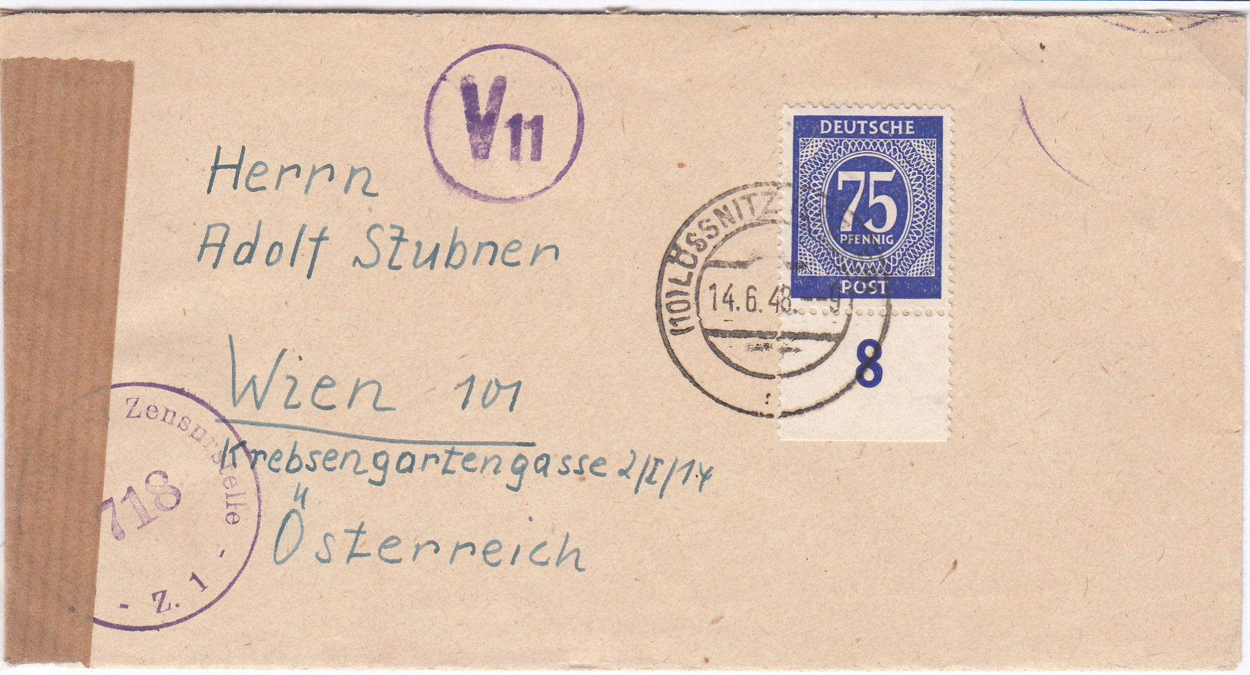 Zensurnebenstempel Österreich nach 1945 Img_0214