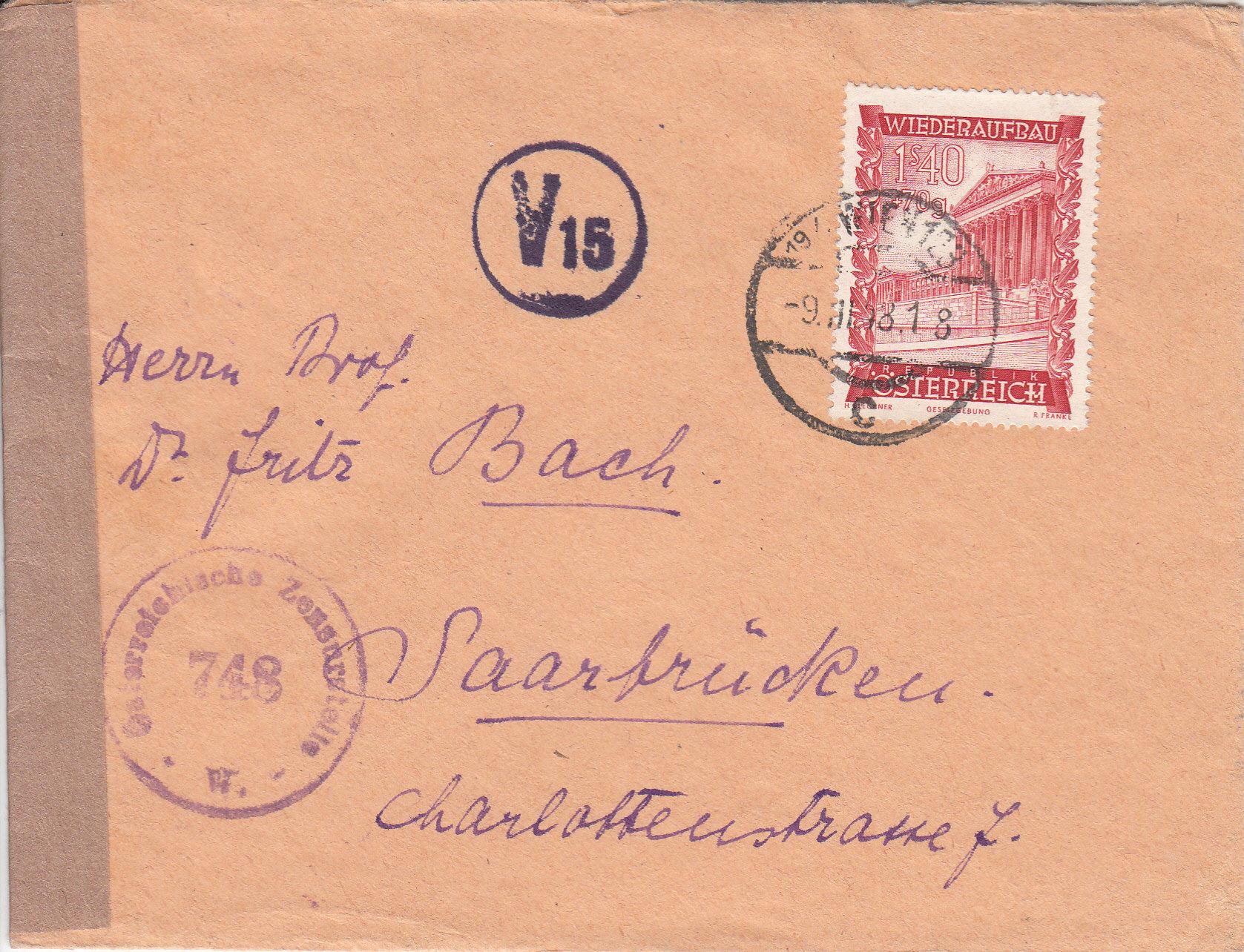 Zensurnebenstempel Österreich nach 1945 Img_0215