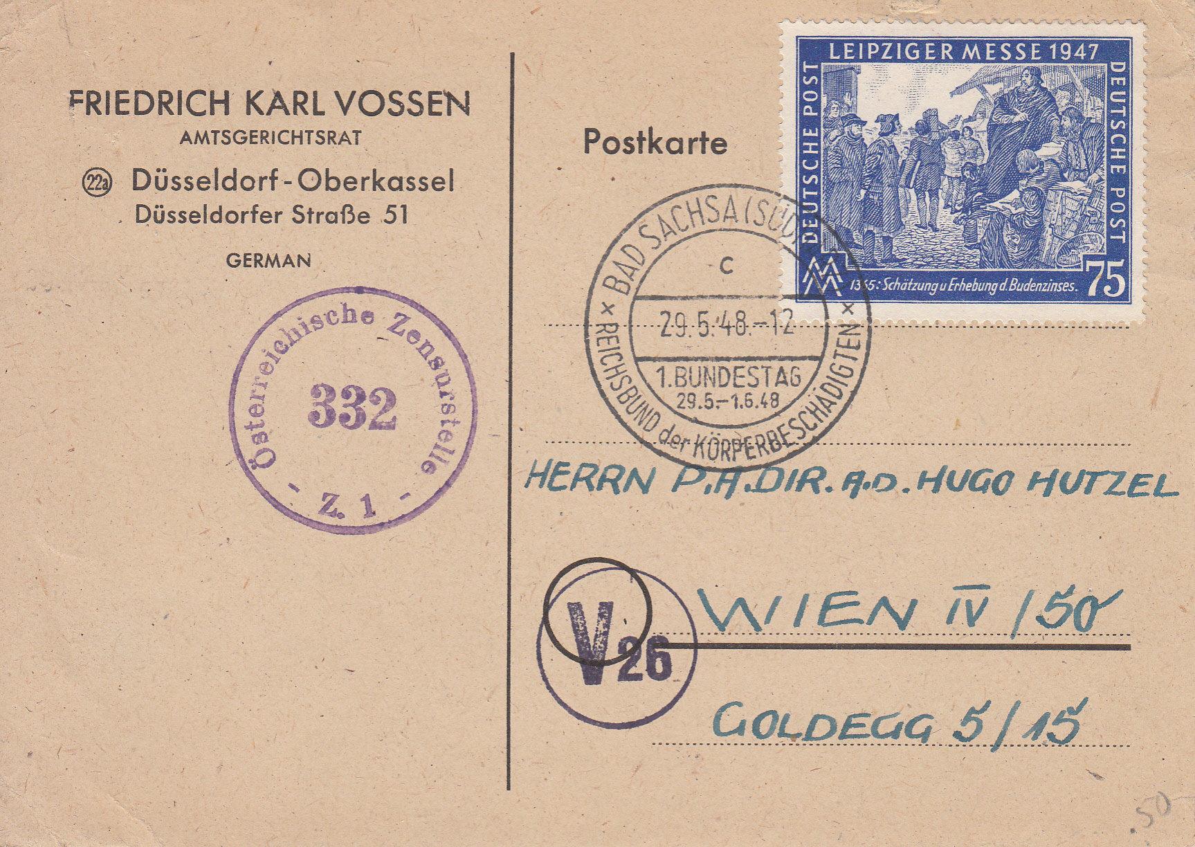 Zensurnebenstempel Österreich nach 1945 Img_0216
