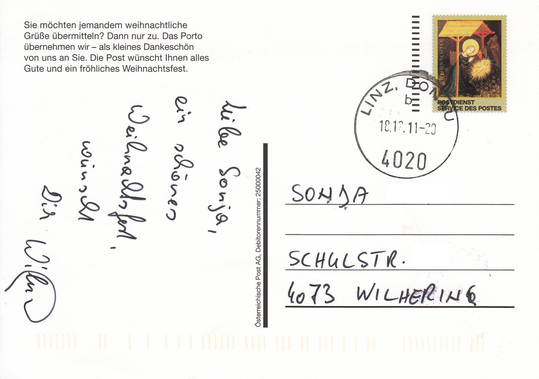 Postdienst – Service des postes - Postdienstkarten - Österreich Img_0221