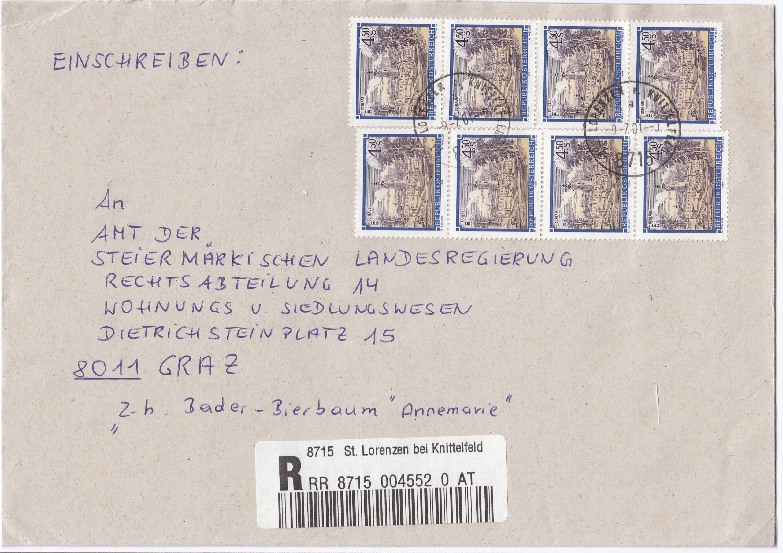 Stifte und Klöster - Belege Img_0224