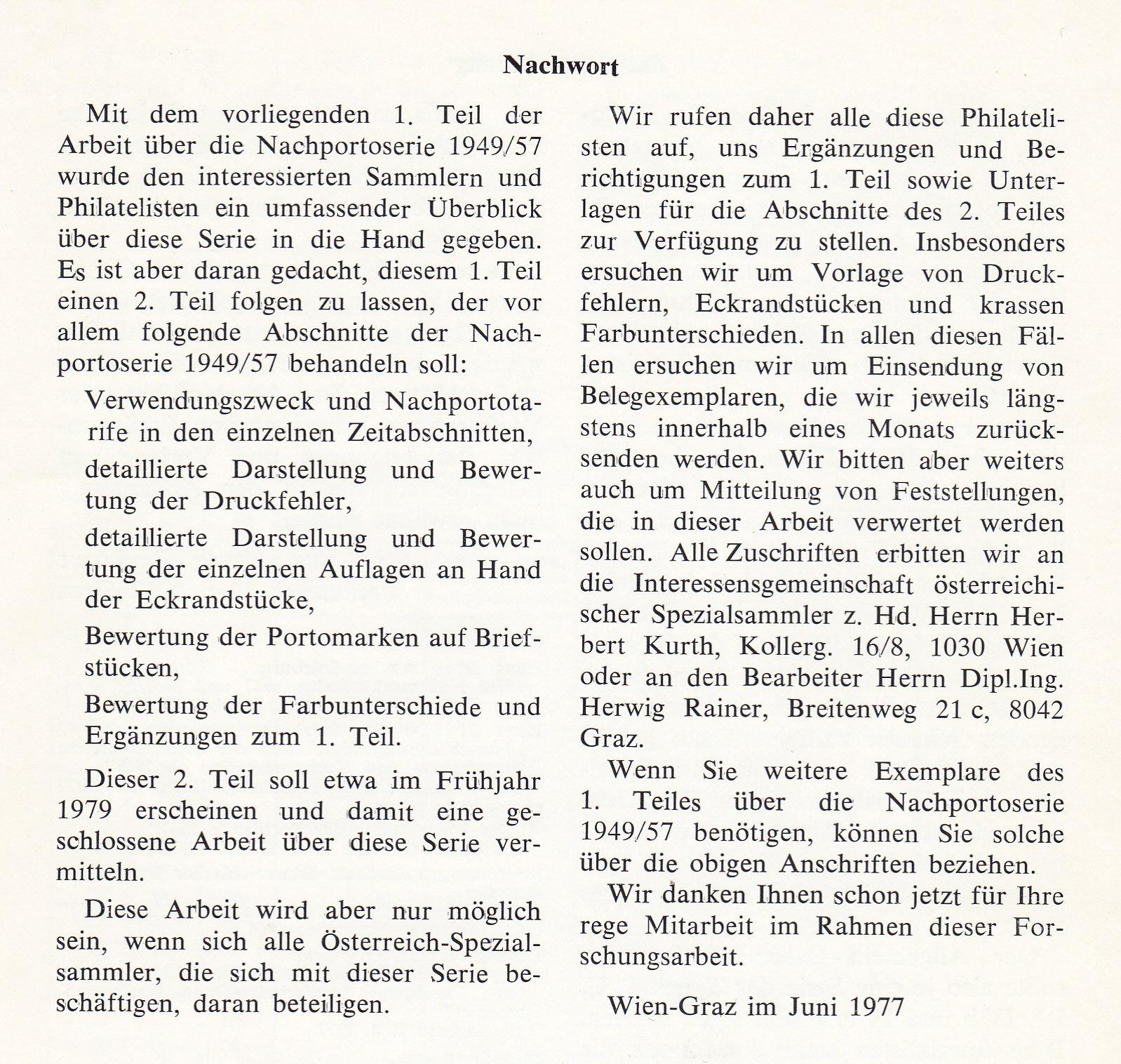 literatur - Literatur zu österreichischen Portomarken Img_0247