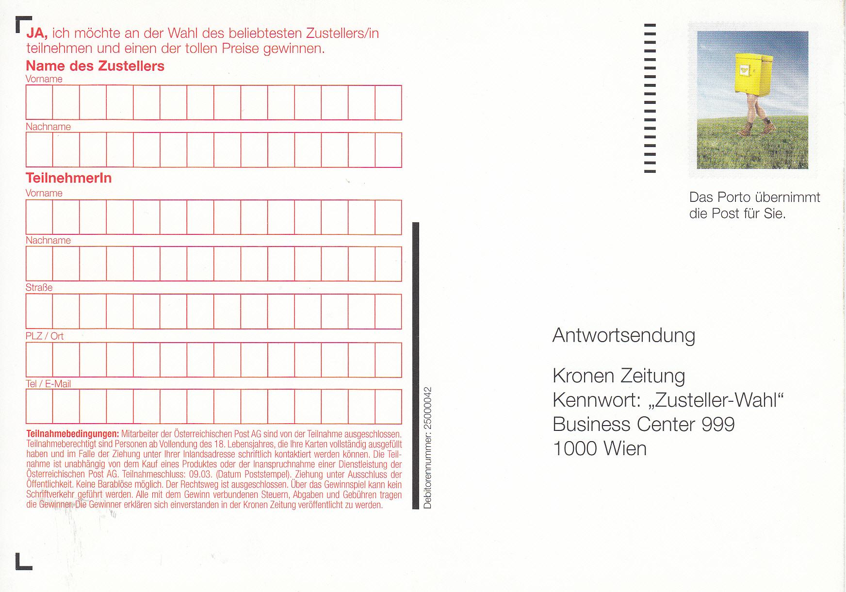 Postdienst – Service des postes - Postdienstkarten - Österreich Img_0259