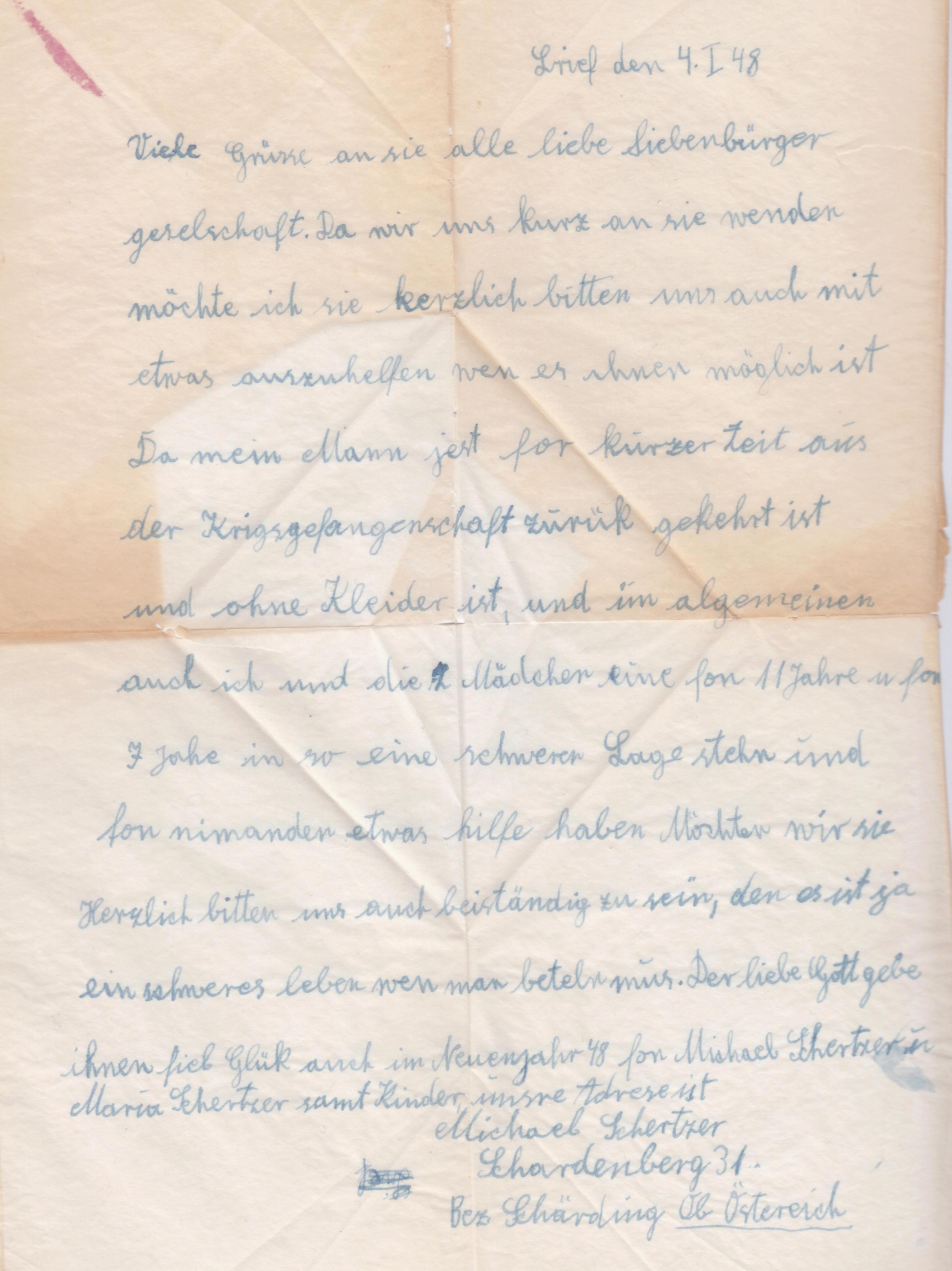Sammlung Bedarfsbriefe Österreich ab 1945 - Seite 14 Img_0273