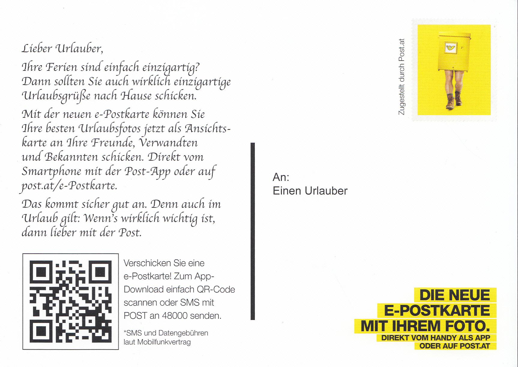 Postdienst – Service des postes - Postdienstkarten - Österreich Img_0279