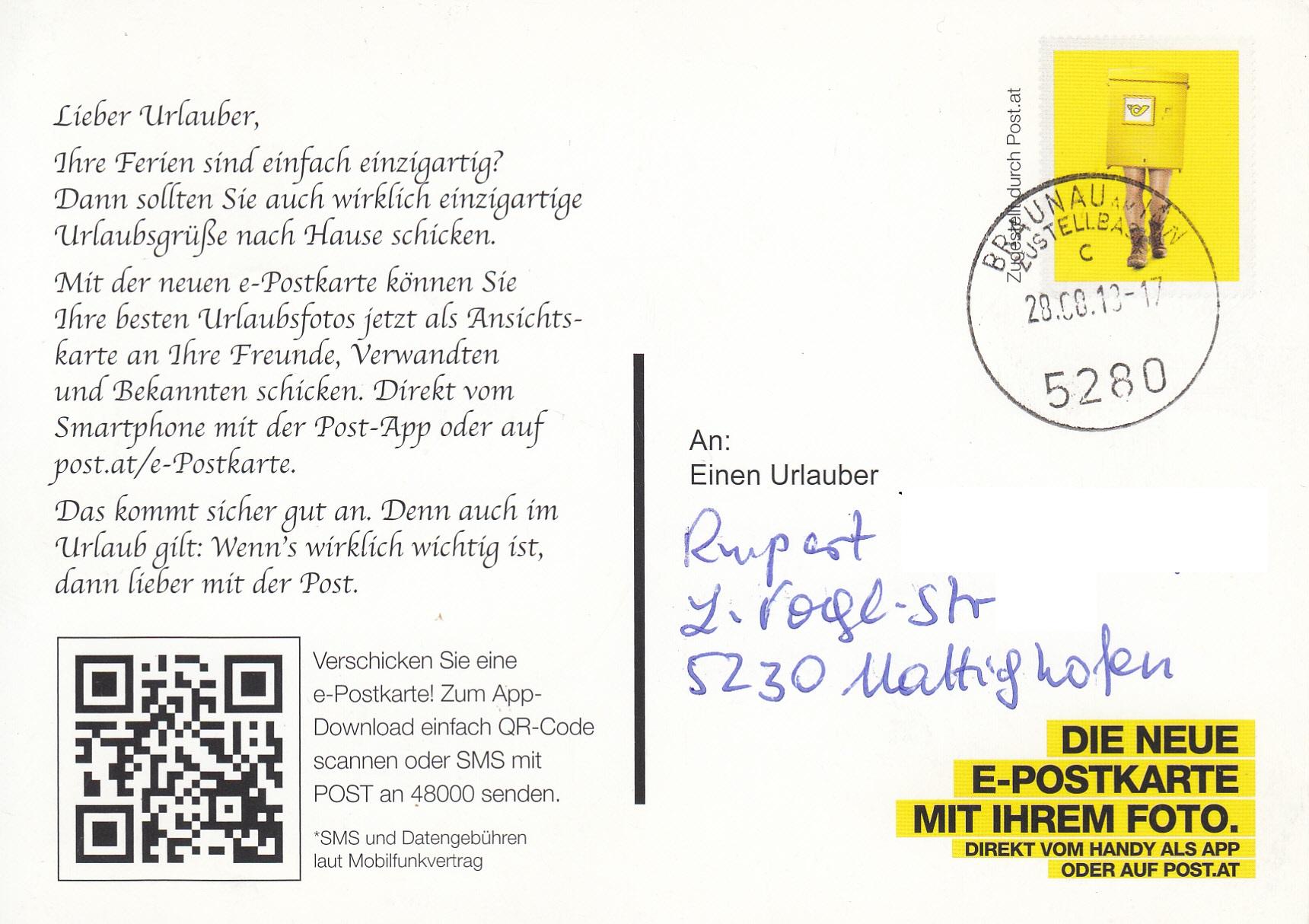 Postdienst – Service des postes - Postdienstkarten - Österreich Img_0280