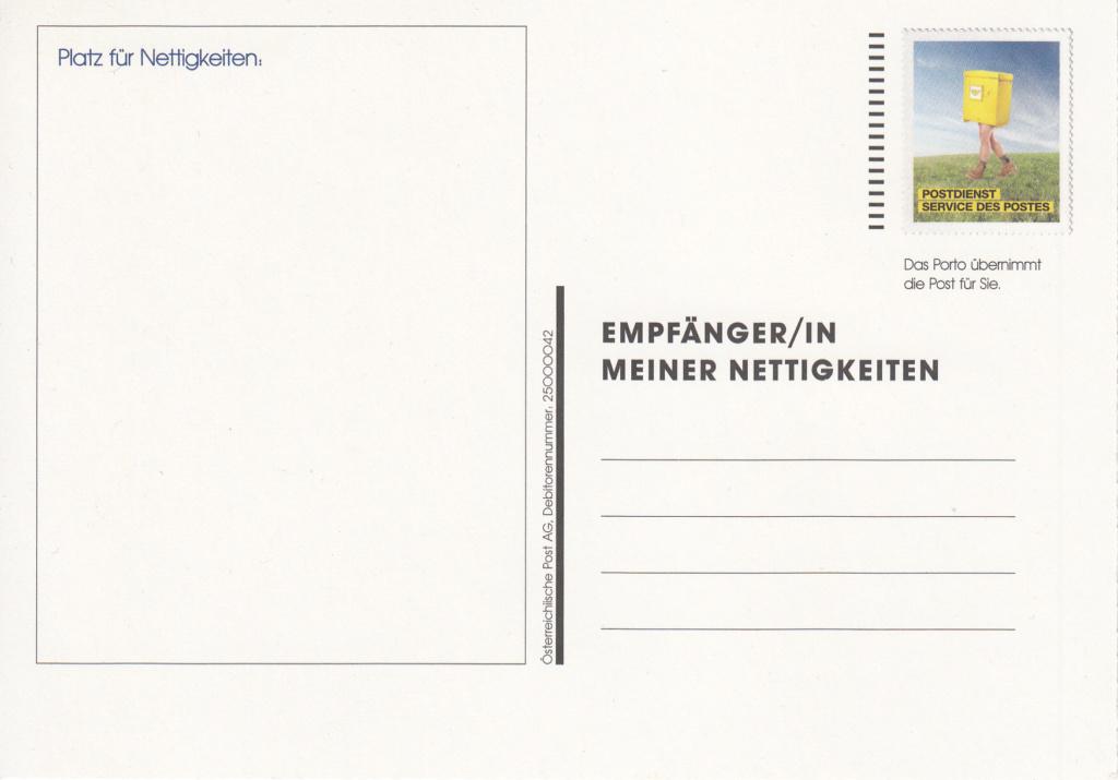 Postdienst – Service des postes - Postdienstkarten - Österreich Img_0349