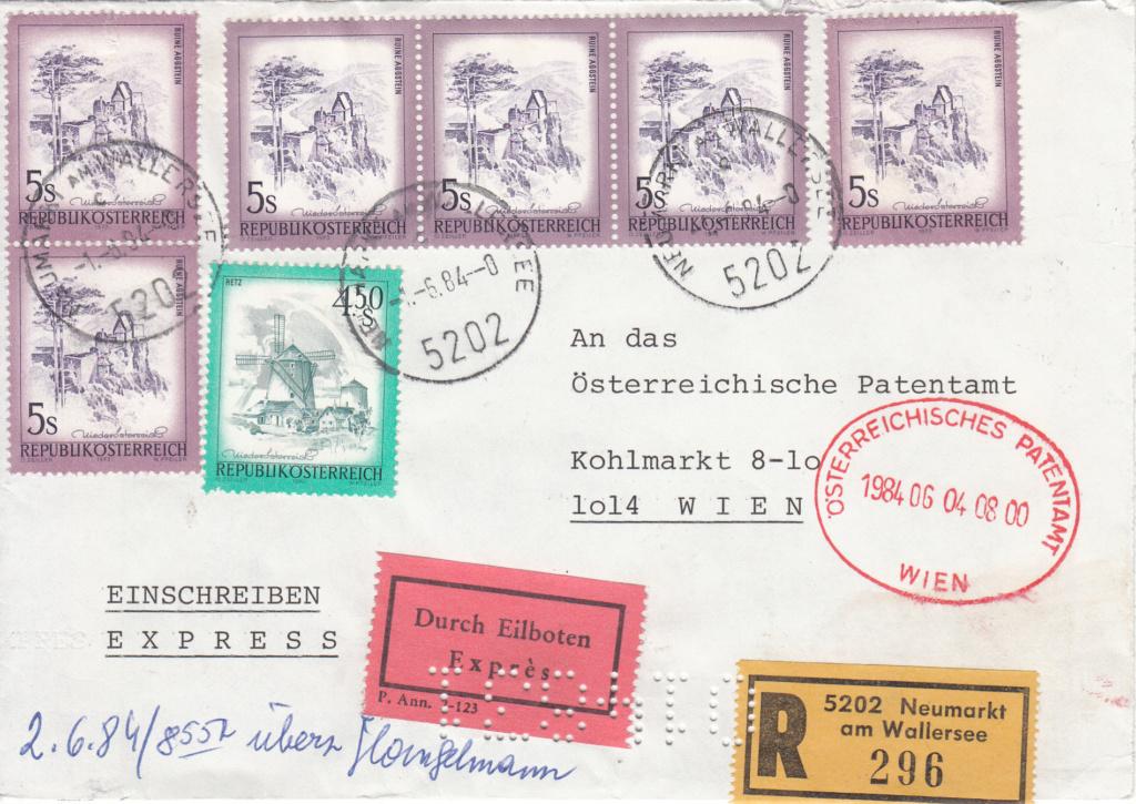 Österreichisches Patentamt - Belege Perfins Img_0366