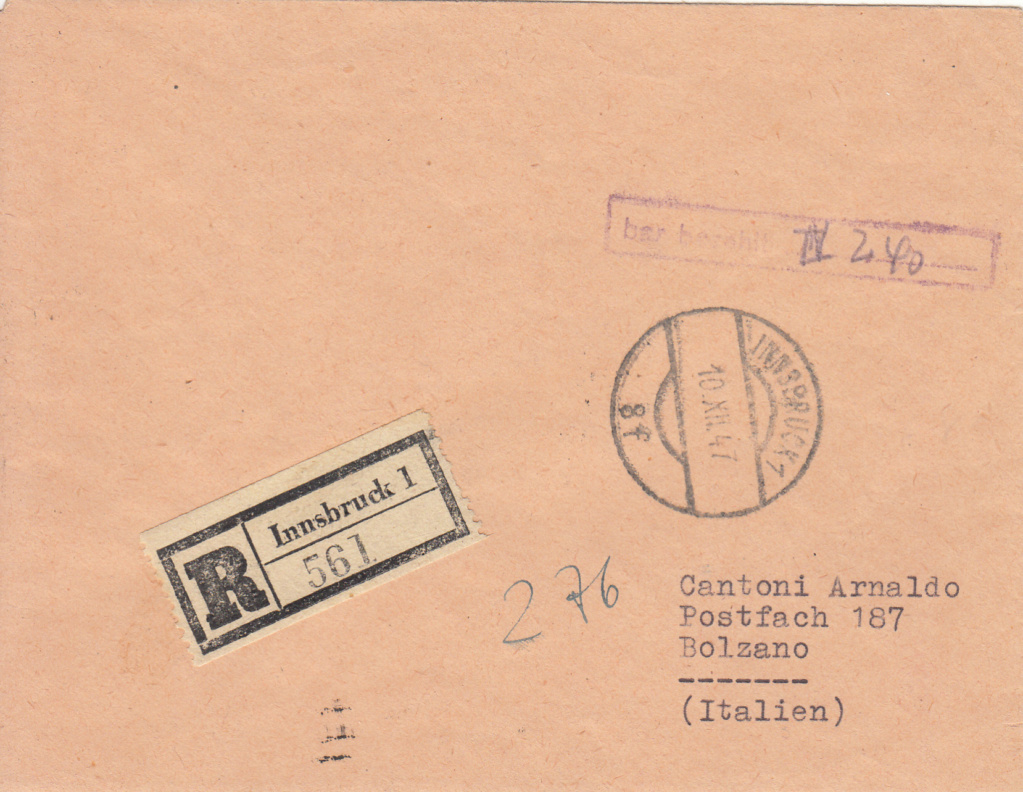 Österreich 2. Währungsreform 10.12.1947 - Belege Img_0367