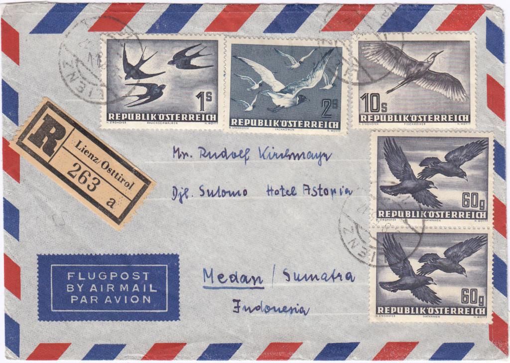 Flugpostserie II Heimische Vogelwelt in Stadt und Land - Vögel Img_0388