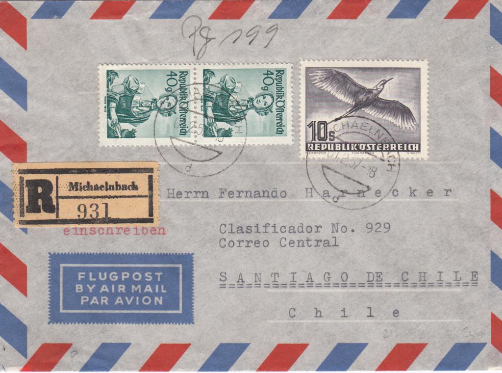 Flugpostserie II Heimische Vogelwelt in Stadt und Land - Vögel Img_0408