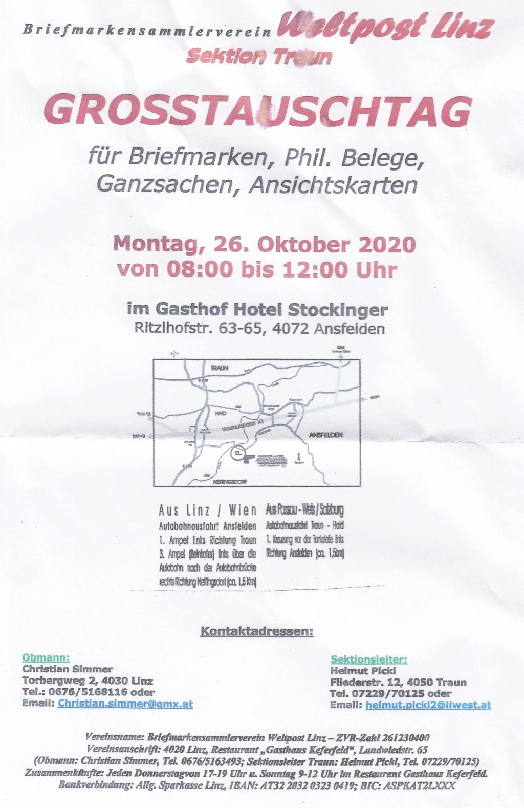 Tauschtag Traun 26.10.2020 - andere Lokalität Img_0418