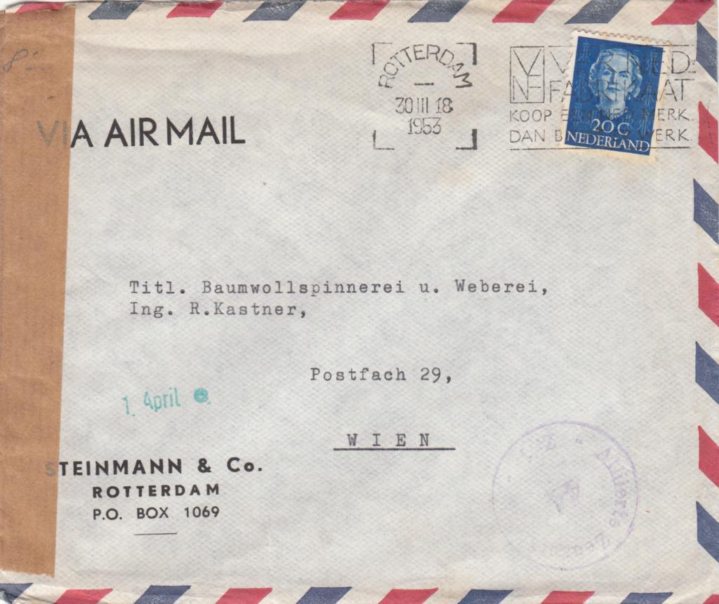 Zensurnebenstempel Österreich nach 1945 Img_0443