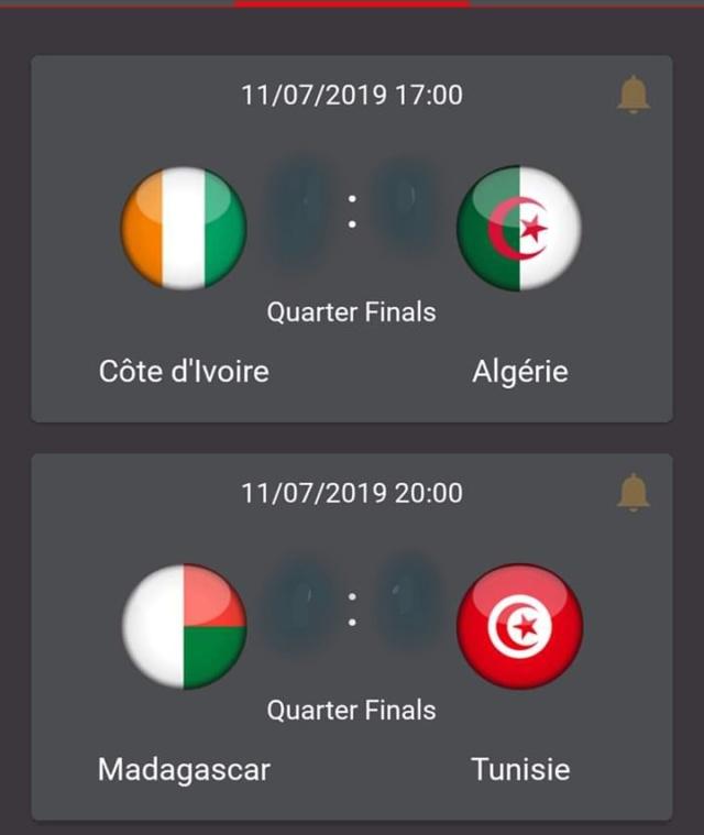 CAN 2019. Le calandrier complet de la 32ème Coupe d'Afrique des Nations 20190710