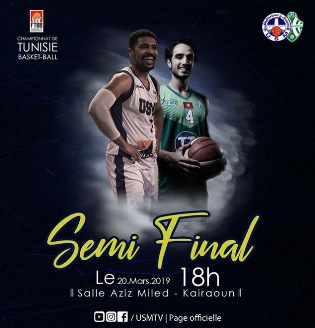 Basket-ball. Semi Final. JSK - USM 53789510