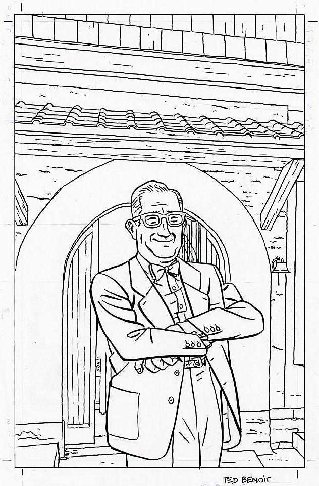 Pleins feux sur Edgar Pierre JACOBS et Blake et Mortimer (2ème partie en cours) - Page 30 Benoit10