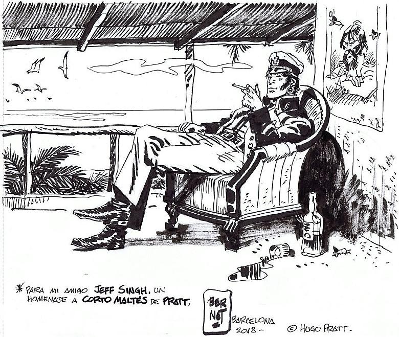 Les hommages entre les dessinateurs - Page 25 Bernet10