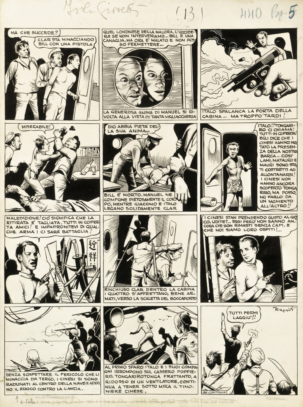 Bandes dessinées italiennes - Page 16 Caprio10