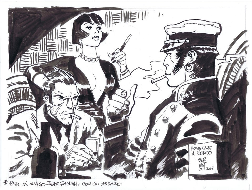 Les hommages entre les dessinateurs - Page 24 Corto_11