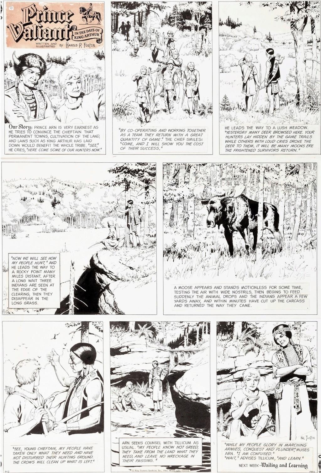 Prince Vaillant par Hal Foster - Page 16 Pv120910