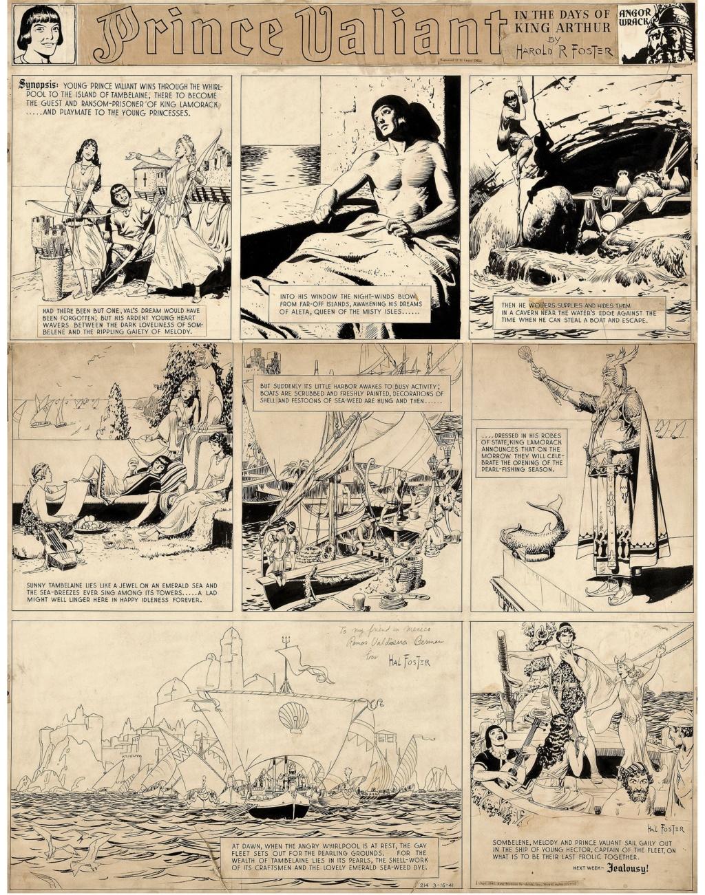 Prince Vaillant par Hal Foster - Page 16 Pv160310