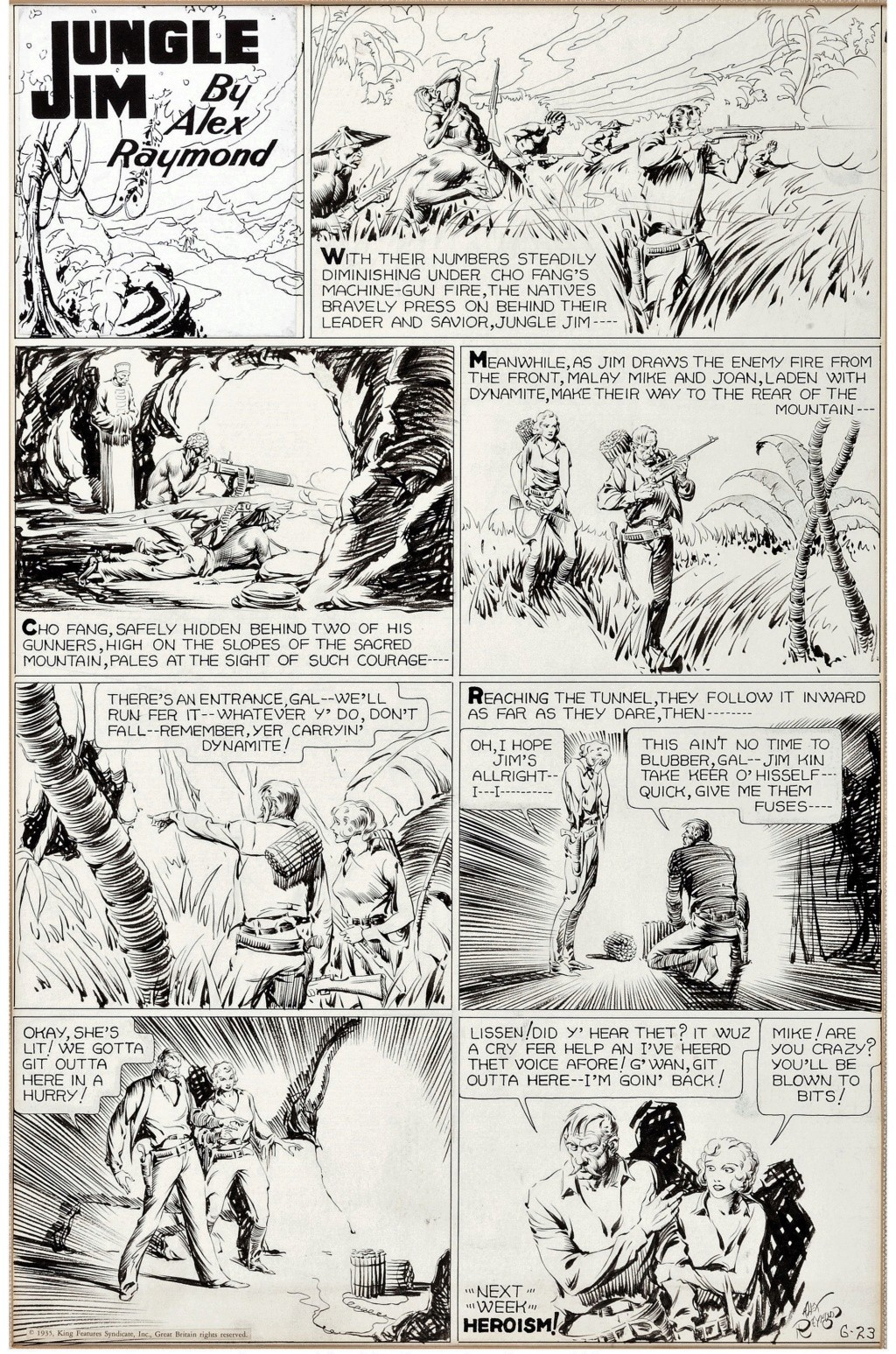 Alex RAYMOND et ses personnages - Page 8 Raymmo10