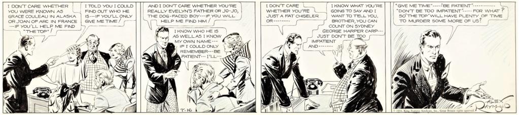 Alex RAYMOND et ses personnages - Page 8 Raymon14