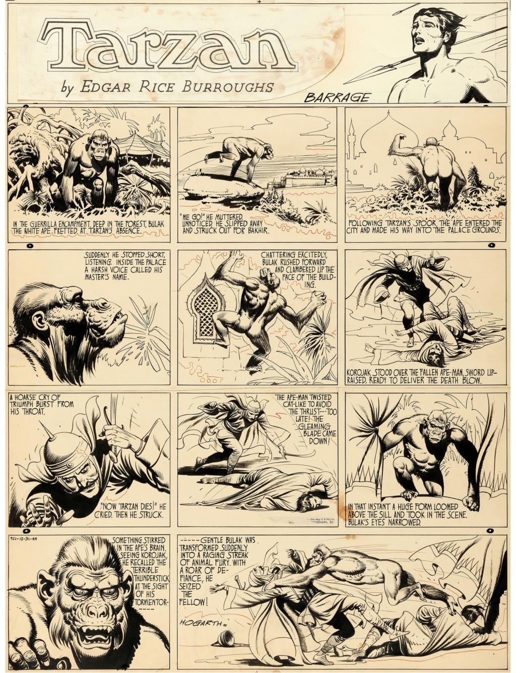 Burne HOGARTH - Page 3 Tarzan10