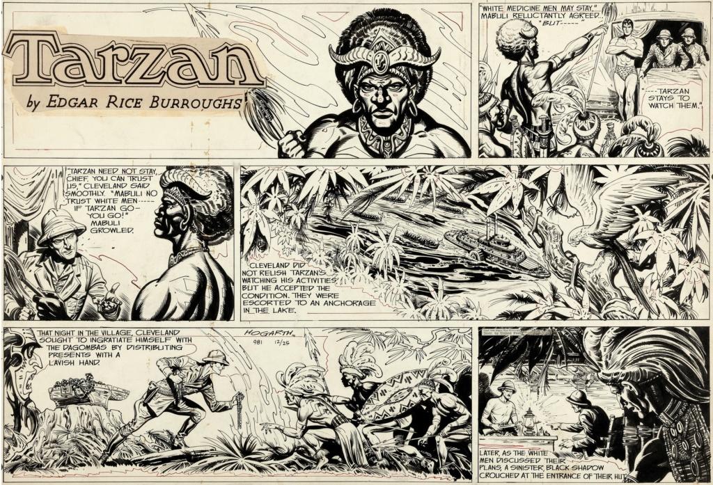 Burne HOGARTH - Page 3 Tarzan11