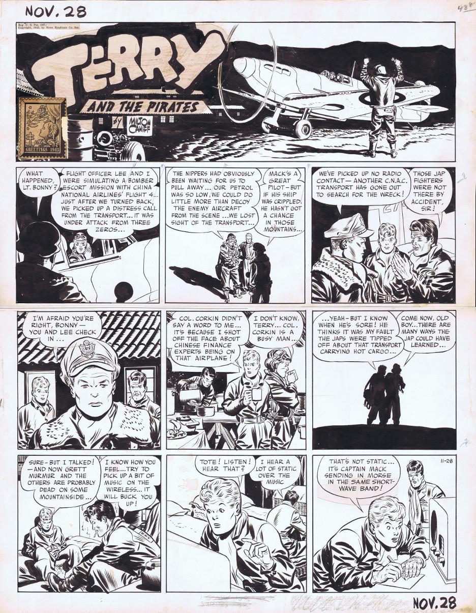 Terry et les pirates de Milton CANIFF - Page 7 Terry-10