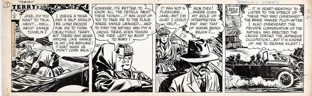 Terry et les pirates de Milton CANIFF - Page 7 Terry010
