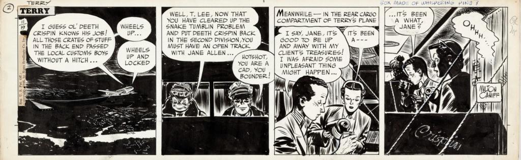 Terry et les pirates de Milton CANIFF - Page 8 Terry111