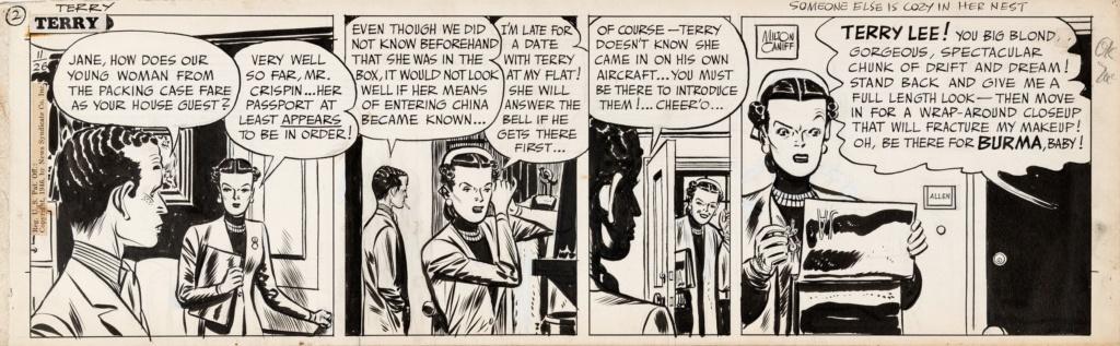 Terry et les pirates de Milton CANIFF - Page 8 Terry211