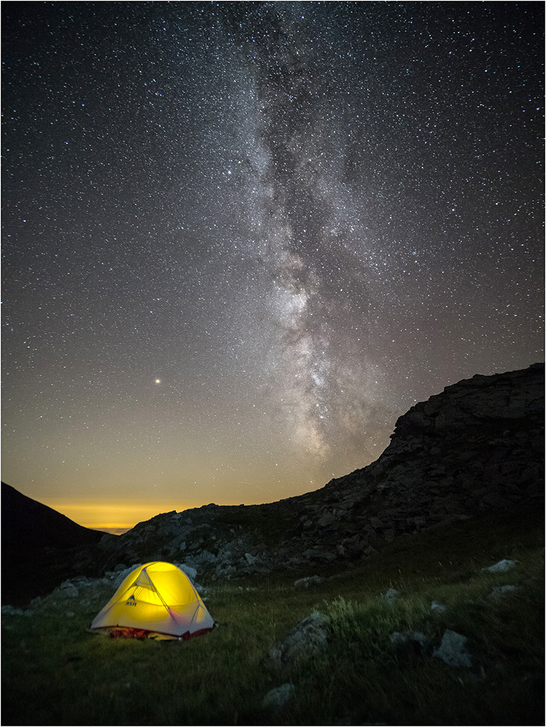 Voie Lactée dans le Mercantour  P9040012