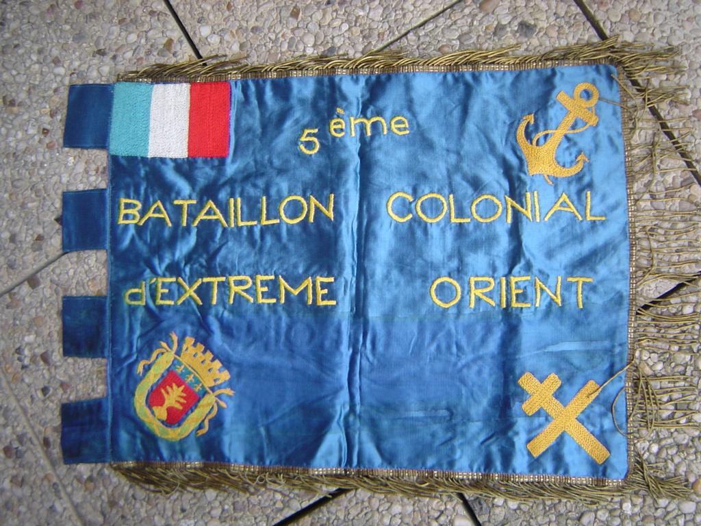 Doublette de fanions WW1 & INDO de broc Dsc00027