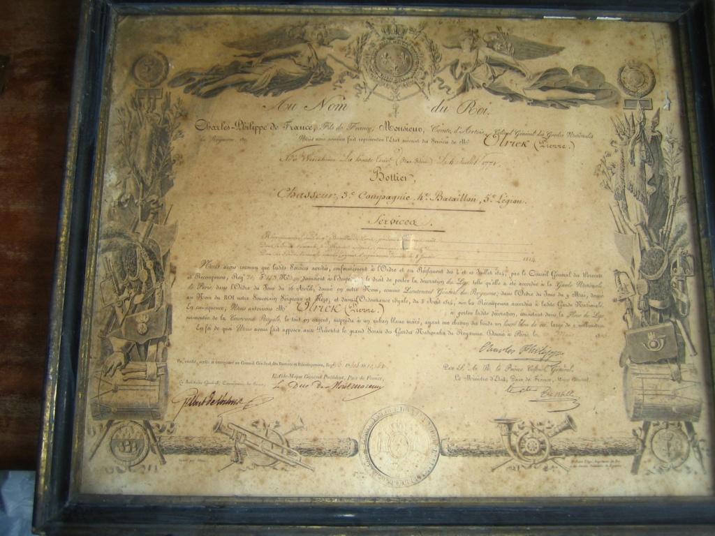 Diplôme Ordre du Lys et photos Img_3374