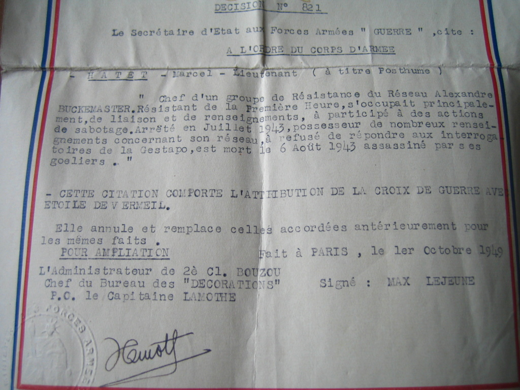 Marcel HATET Héroique Résistant Breton Img_4871