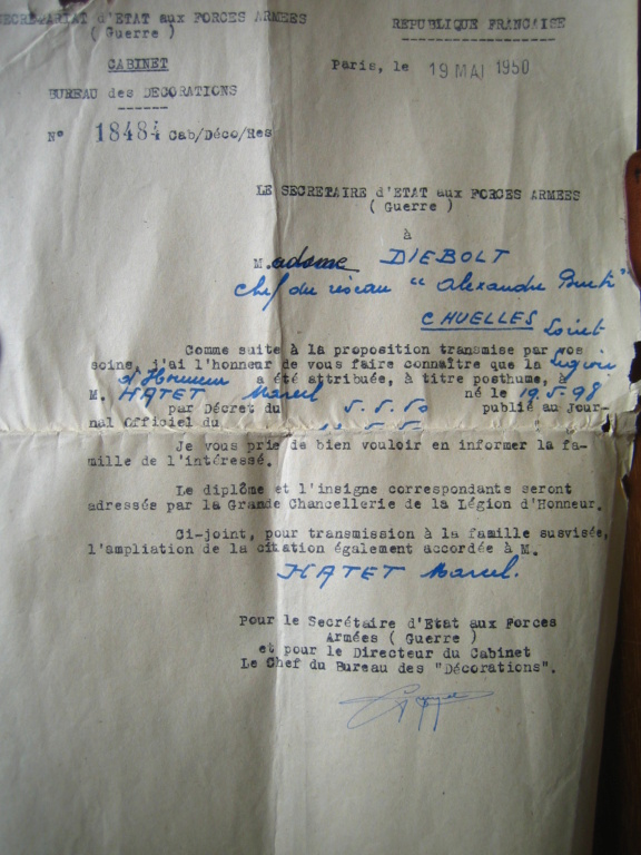 Marcel HATET Héroique Résistant Breton Img_4873