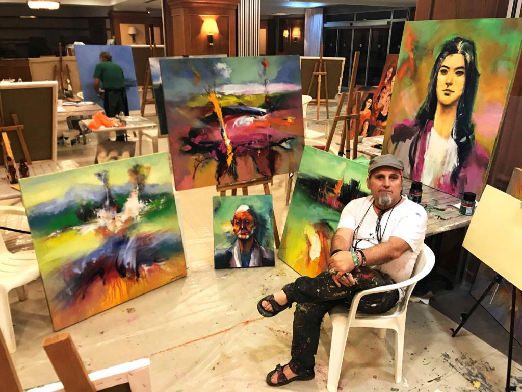 Internacional Artist Shefqet Avdush Emini 000110