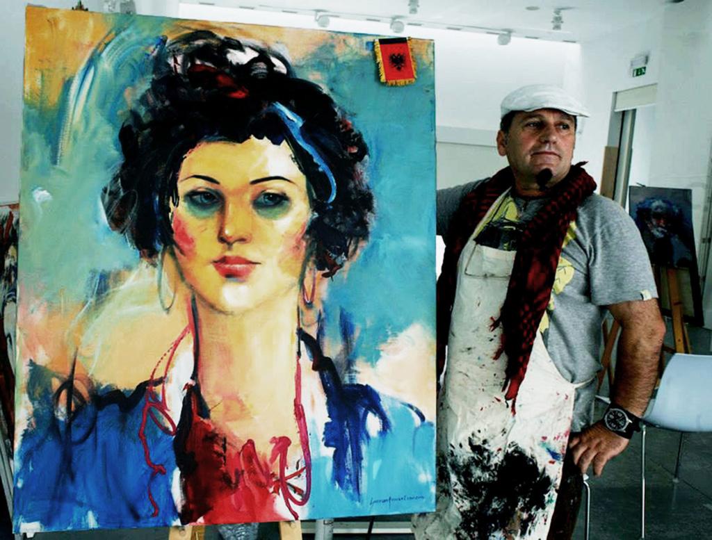 Internacional Artist Shefqet Avdush Emini 111a10