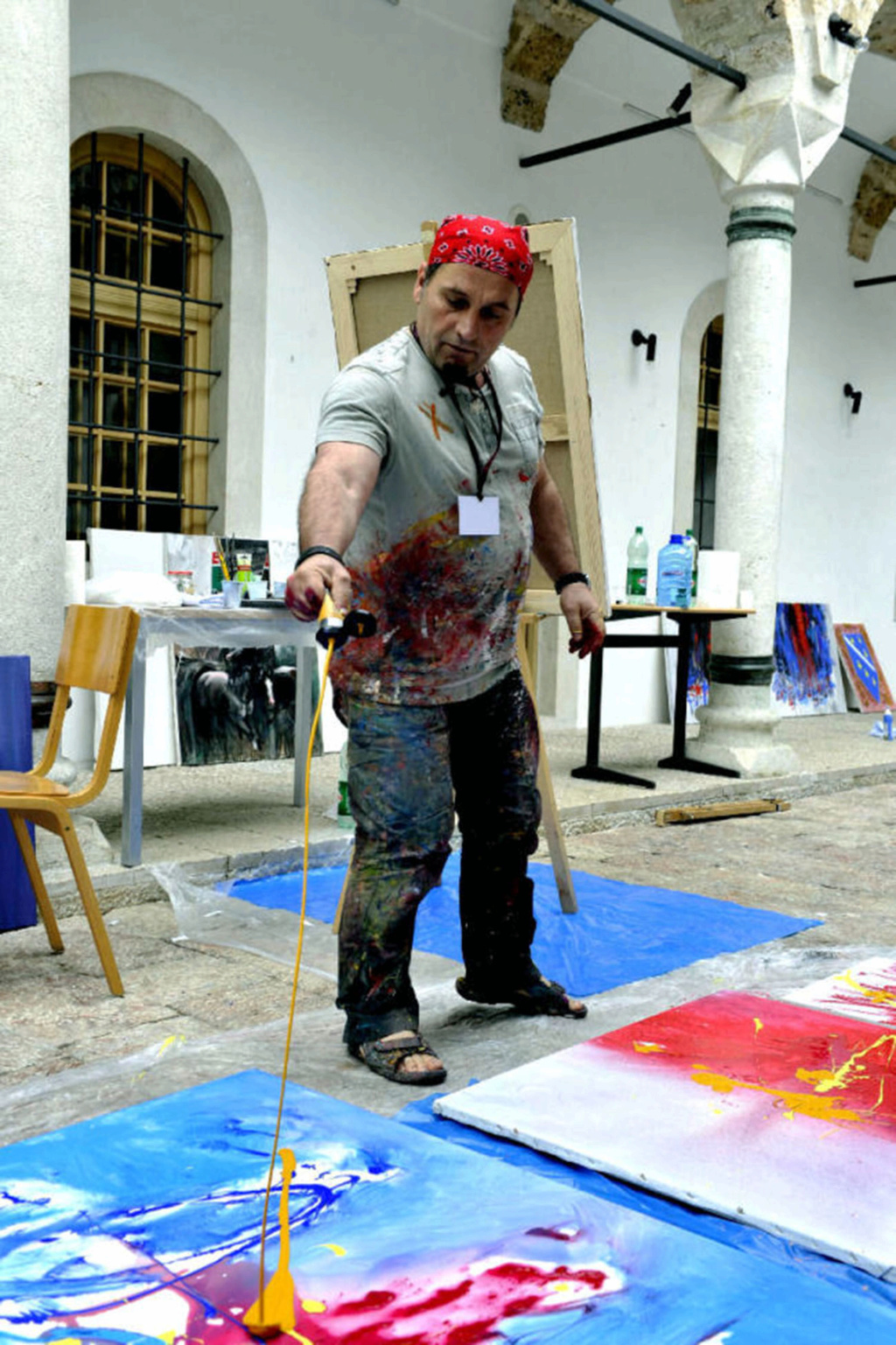 Internacional Artist Shefqet Avdush Emini 310
