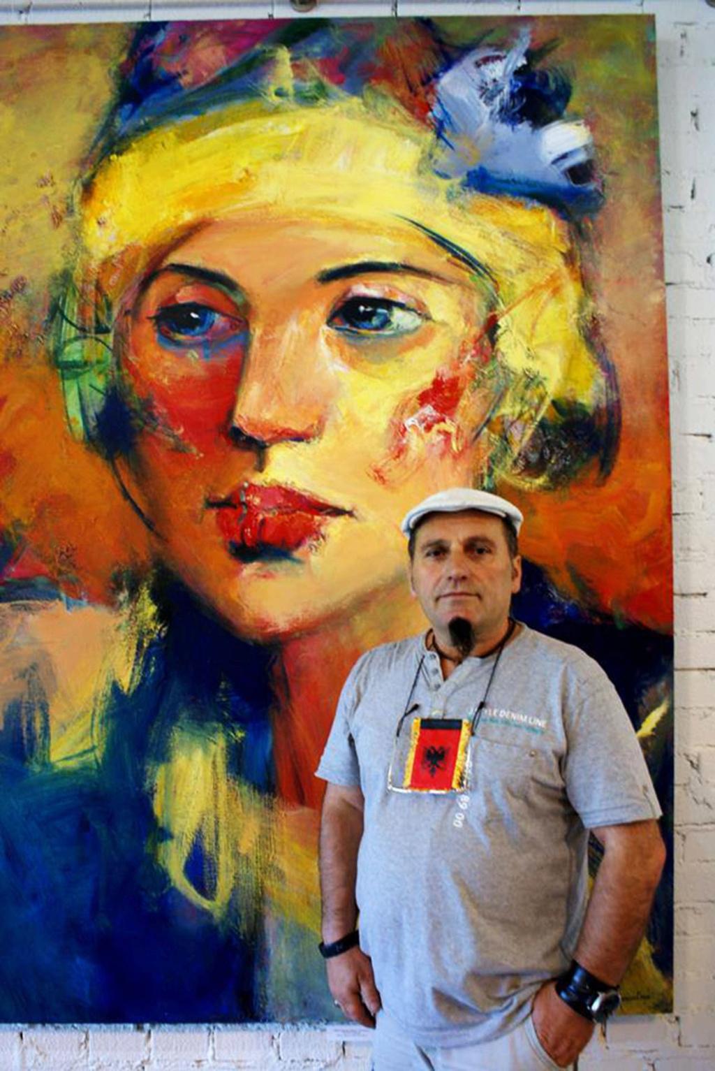 Internacional Artist Shefqet Avdush Emini 35m11