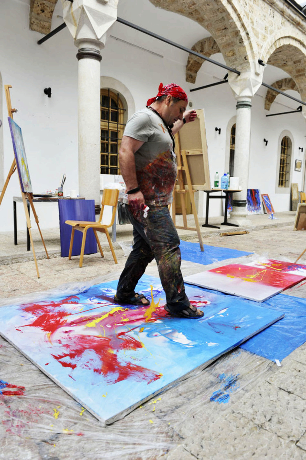Internacional Artist Shefqet Avdush Emini 710