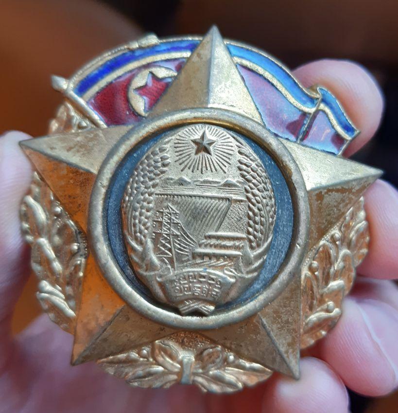 Ordres et médailles Corée du Nord Patrie10