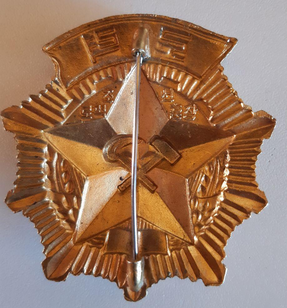 Ordres et médailles Corée du Nord Travaa10